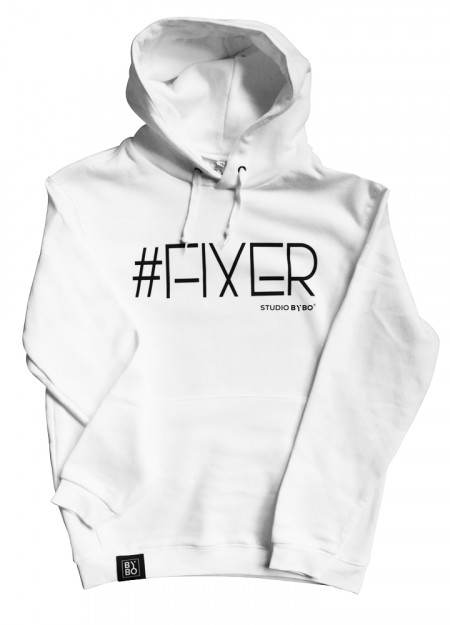 HOODY FIXER WHITE