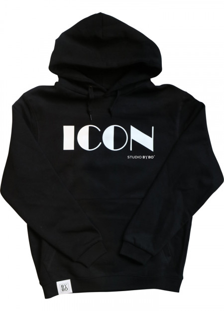 HOODY ICON BLACK
