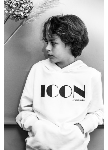 HOODY ICON WHITE
