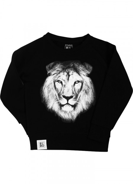 TEENS SWEATER LION BLACK