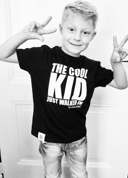 KIDS TEE COOL KID BLACK
